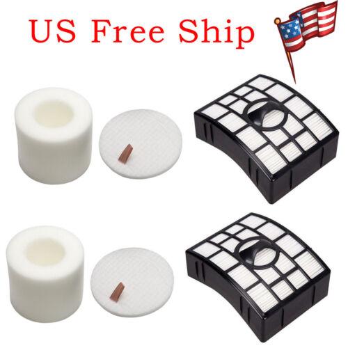 2 Packs For Shark NV650 Filter /& Foam for Shark Rotator Powered Lift-Away NV752