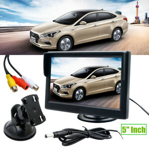 5-Inch-TFT-LCD-Car-Rear-View-Monitor-2-Stand-For-Reverse-Backup-Camera-VCR-DVD