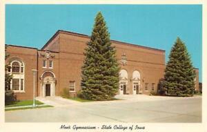 CEDAR-FALLS-IA-1965-Campus-View-of-State-College-of-Iowa-Men-039-s-Gymnasium-473