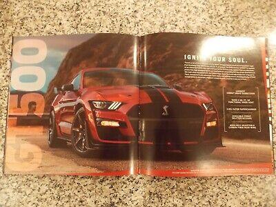 2020 Ford Mustang Dealer Sales Brochure,GT-500 & 350 ...