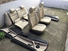 inkl. UMBAU BMW E92 LCI Coupe individual hellbeige Lederausstattung Leder Sitze