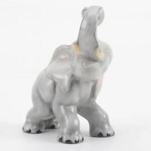 Herend-Porcelain-Natural-Elephant-Figurine