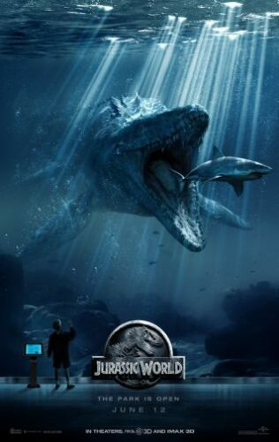 Jurassic World Movie Poster 24in x36in