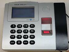 New Listingpyramid Timetrax Elite Bio Biometric Time Clock With Ac Adapter Ethernet Terminal