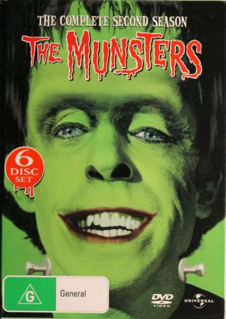 The Munsters DVD - The Complete Second Season 2 - Free Post