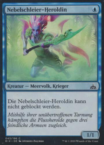 Magic MTG 43-Brouillard Voile-heroldin-rivaux de ixalan