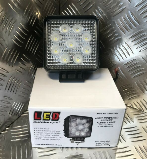 HP Flood Lamp 18W LED Autolamps Tractor Truck Car Trailer 16018FBM