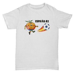 1d022ac93d SPAIN 82 ESPANA INSPIRED WORLD CUP FOOTBALL SOCCER RETRO CULT MENS ...
