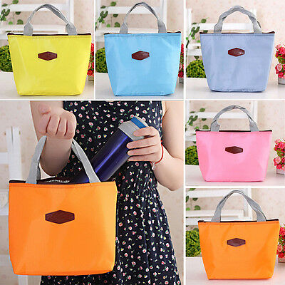 New Thermal Travel Picnic Lunch Tote Insulated Cooler Hand Bag Waterproof