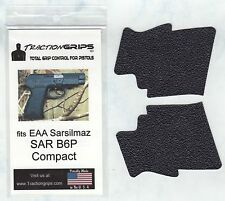 Tractiongrips rubber grips for EAA Sarsilmaz SAR Arms B6P Compact 9mm/.40 B6Pc