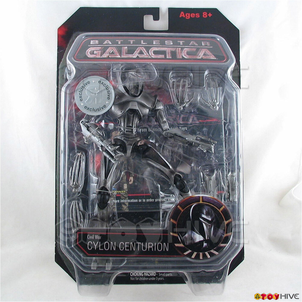 Battlestar Galactica Civil War Cylon Centurion TRU action figure Diamond Select