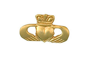 Claddagh-Tie-Tack-Tie-Pin-Yellow-Gold-Made-To-Order-in-Jewellery-Quarter-B-039-ham