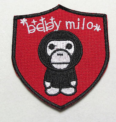 """MTM Embroidery Peanut Snoopy Football Round Iron-on Badge Patch Applique 2 7//8/"""""""