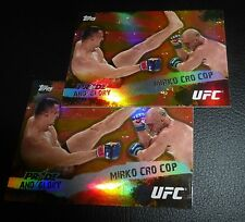 Mirko Cro Cop Filipovic UFC 2010 Topps Pride and Glory Insert Card #PG-1 20 28