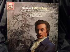 J. Massenet - Werther / Plasson     3 LP-Box