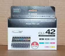 Canon Genuine CLI-42 8 Pack Ink Brand New! FREE SHIPPING!!