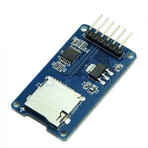 Micro-SD-Card-Module-Reader-Slot-Socket-Shield-Arduino-ARM-MCU-Read-amp-Write-SPI