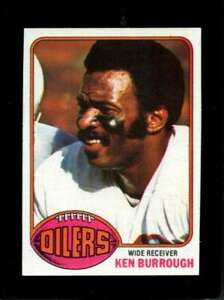 1976-TOPPS-505-KEN-BURROUGH-NM-OILERS-NICELY-CENTERED-X3642
