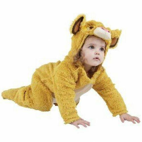 Costume Peluche da Bambino Rubies RBSIT886961-TODD Il Re Leone Simba