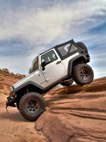 BACKORDER Replacement Soft Top 07-09 Jeep Wrangler JK 2-Dr Smittybilt 9070235