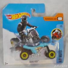 Quad Rod 1:64 Scale Die-cast Model From the HW Moto Series by Hot Wheels