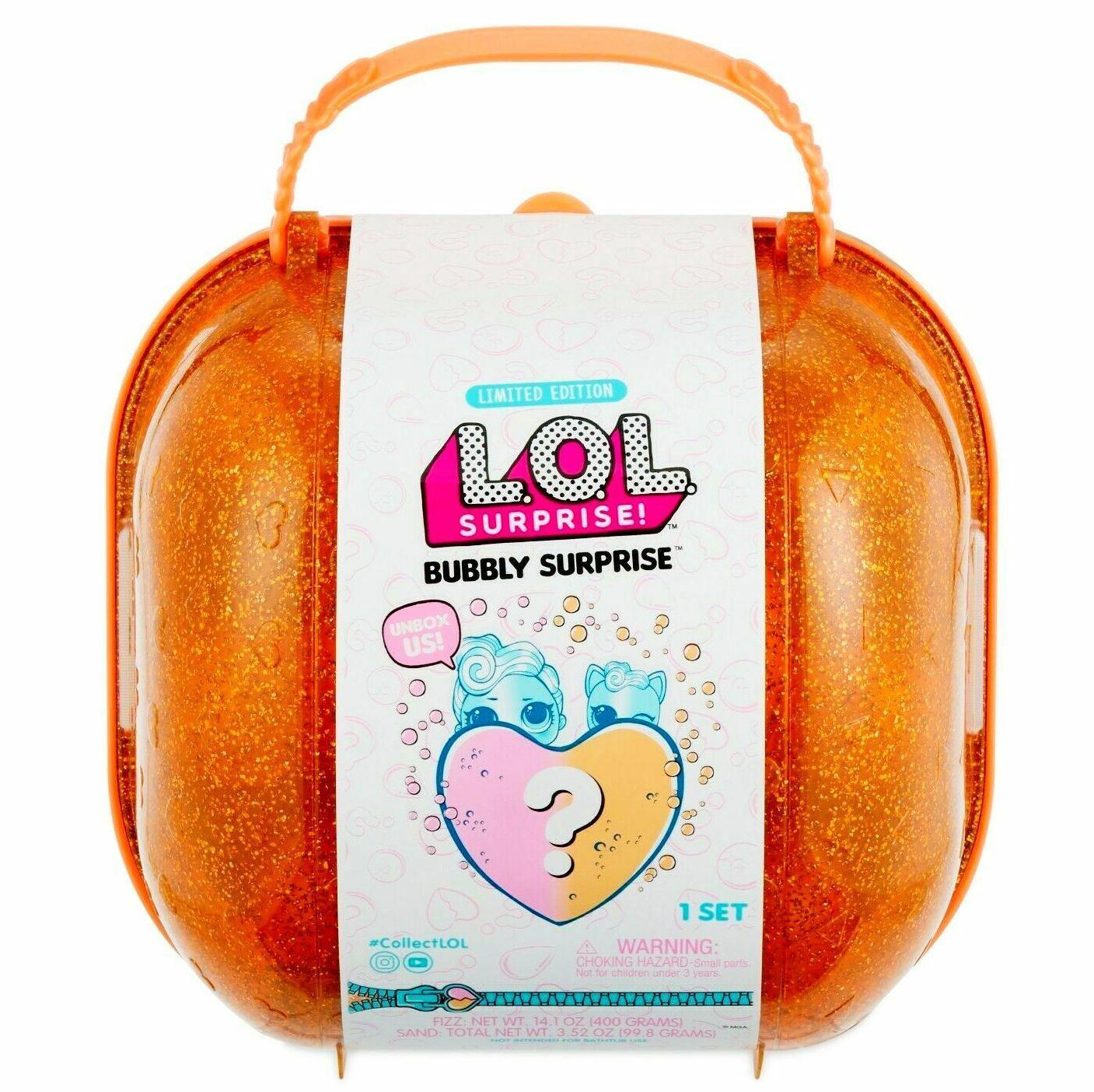 LOL Surprise  Bubbly Surprise with Exclusive Doll & Pet - orange- 100% Authentic