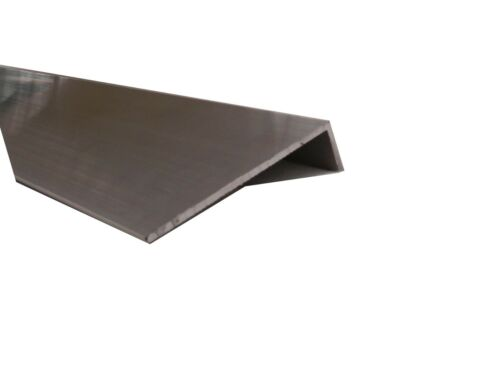 Aluminium Angle 200mm x 50mm x 3mm at 6.5m long mill finish