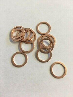 10mm Id X 13.5mm Od X 1mm Thickness Copper Sealing Washers. Choose Quantity. New Aantrekkelijk En Duurzaam