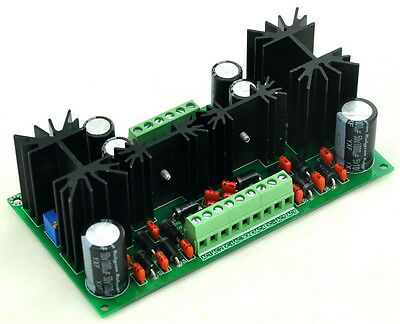 Ultra-low Noise +/- Adjustable Voltage Regulator Module, LT1963A LT3015.