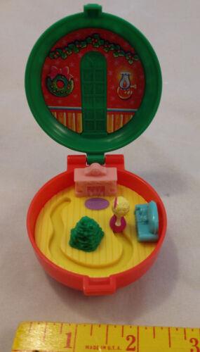 1993 Bluebird Toys Polly Pocket Xmas Wreath McDonald/'s Happy Meal Toy Prize VTG