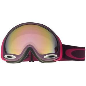 99456dc00fc0 Oakley 59-577 A Frame 2.0 Helio Purple w  VR50 Pink Iridium Snow Ski ...