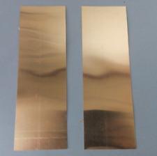 1pcs Quality Copper sheet 2.5mm thick 100mm x 200mm #E3-1a  GY