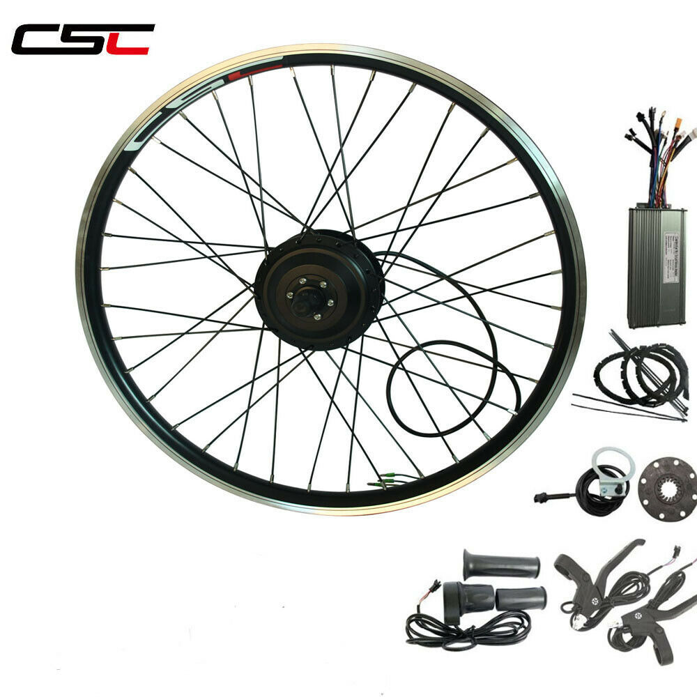 36V 250W Electric E bicicletta bicicletta conversion Kit no similar davanti Rear rueda kit