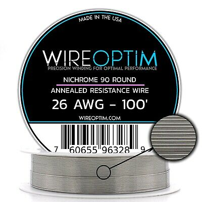 N90 Wire 40g GA 0.08 mm 250 ft 40 AWG Nichrome 90 Competition Wire 250/'
