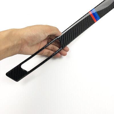 Carbon Fiber Copilot Cup Holder Strip Trim For BMW 3-Series E90 E93 2005-2012