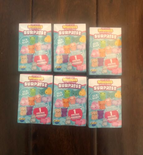 Soft 'n Slo Squishies Surprise Lot of 6. New in box, unopened.