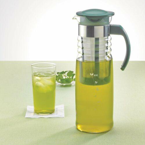 Hario HCC-12DG Cold Brew Ice Tea Glass Pot 1200ml Dark Green F//S w//Tracking# NEW