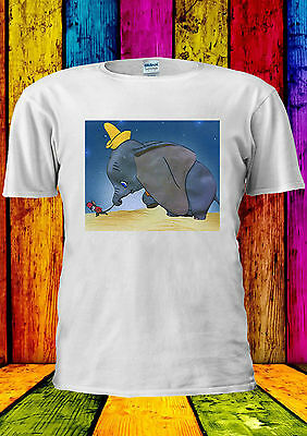 Disney Caratteri Dumbo Timothy T-shirt Canotta Tank Top Uomini Donne Unisex 396-mostra Il Titolo Originale