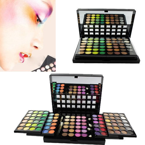 Pro 96 Full Color Eyeshadow Palette Eye Shadow Makeup Box 3 Layer Cosmetic Set