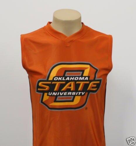 Free Shipping Oklahoma State Cowboys Sleeveless NCAA Football Jersey