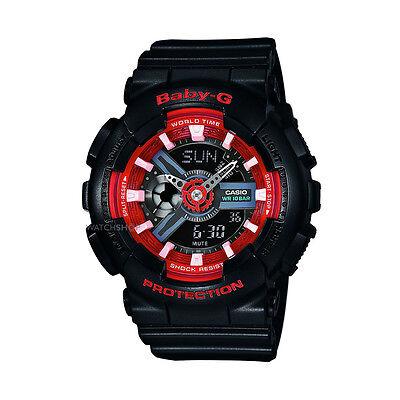 Casio Baby G G-Shock Blue Dial Analog Digital Quartz Ladies Watch BA110SN-1A