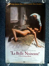 LA BELLE NOISEUSE Original 1990s Advance OS Movie Poster Sexy Emmanuelle Béart