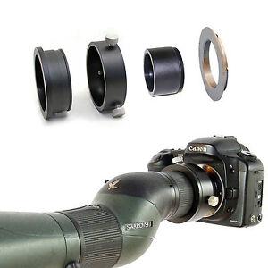 Canon EOS camera adapter for Swarovski Spotting Scope HD 65 80 25-50x eyepiece