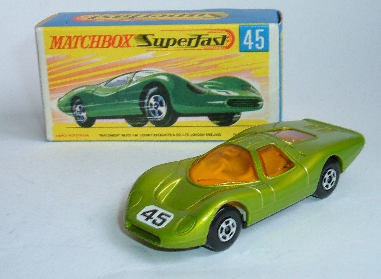 Matchbox súperfast Nº 45, grupo de Ford 6,- Excelente Como Nuevo.