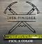 """14er Finisher Sticker 5.5/"""" Decal Colorado 14ers Fourteeners XO Climbing Hiking"""