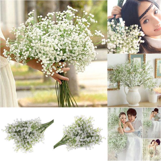 Hobbycraft Babysbreath Gypsophila Artificial Flower Wedding Decoration Assorted Cream Hcb1126cm For Sale Ebay