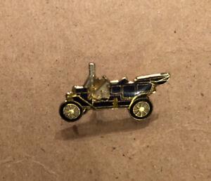 Lot Of (11) Antique Vintage Enamel Car Lapel Pins Blue