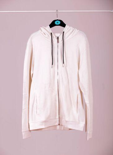 Zara hoodie OPEN FRONT SWEATSHIRT Hood Man/'s lookbook Autumn fashion collection