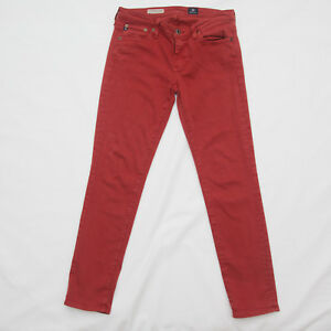 AG-Adriano-Goldschmied-Stevie-Ankle-Jean-Size-27-R-Slim-Straight-stretch