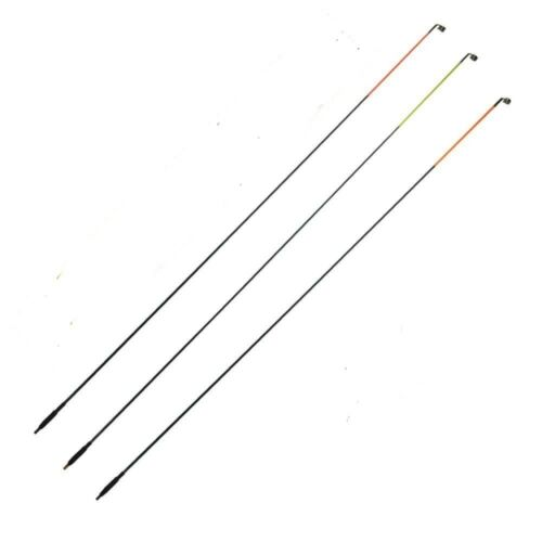 3 Quiver tips for coarse,carp,barbel fishing screw in angling tackle post free